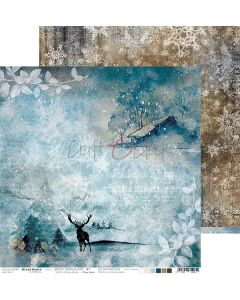 Dvostranski papir - SNOWY WINTERLAND 01 - 30,5 x 30,5 cm - 250g