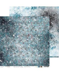Dvostranski papir - SNOWY WINTERLAND 05 - 30,5 x 30,5 cm - 250g