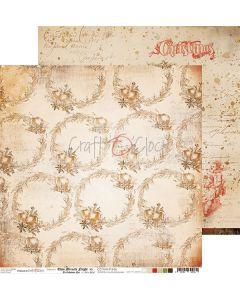 Dvostranski papir - THIS MIRACLE NIGHT 06 - 30,5 x 30,5 cm - 250g