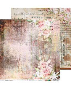 Dvostranski papir - VINTAGE TREASURE 06 - 30,5 x 30,5 cm - 250g