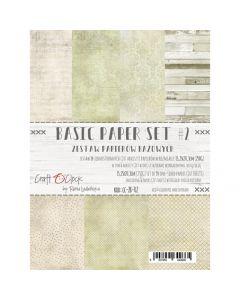 Set papirjev - BASIC PAPER SET 02 15,25 x 20,3 cm