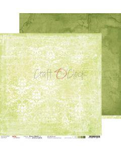 Dvostranski papir - GREEN MOOD 01 - 30,5 x 30,5 cm - 250g