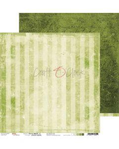 Dvostranski papir - GREEN MOOD 02 - 30,5 x 30,5 cm - 250g