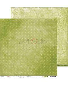 Dvostranski papir - GREEN MOOD 03 - 30,5 x 30,5 cm - 250g