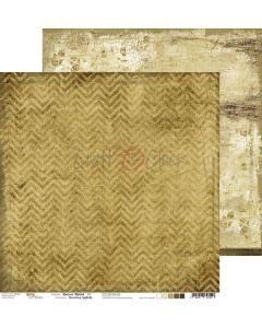 Dvostranski papir - BROWN MOOD 02 - 30,5 x 30,5 cm - 250g