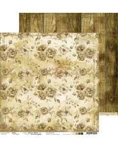 Dvostranski papir - BROWN MOOD 04 - 30,5 x 30,5 cm - 250g