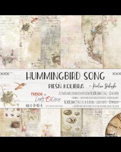 Set papirjev - HUMMINGBIRDS SONG 30,5 x 30,5 cm