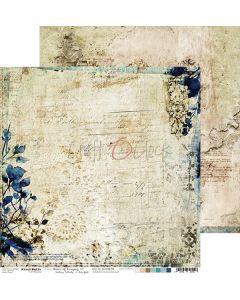 Dvostranski papir - HOURS OF LONGING 02 - 30,5 x 30,5 cm - 250g