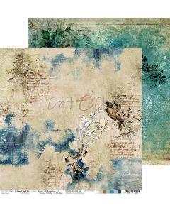 Dvostranski papir - HOURS OF LONGING 06 - 30,5 x 30,5 cm - 250g