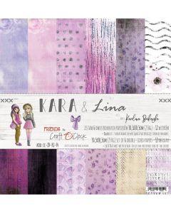 Set papirjev - KARA & LINA 30,5 x 30,5 cm