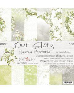 Set papirjev - OUR STORY 30,5 x 30,5 cm