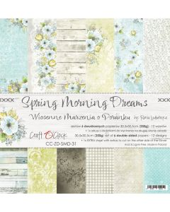 Set papirjev - SPRING MORNING DREAMS - 30,5 x 30,5 cm