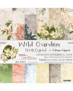 Set papirjev - WILD GARDEN 30,5 X 30,5 cm