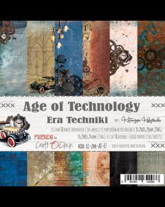 Set papirjev - AGE OF TECHNOLOGY 15,25 x 15,25 cm