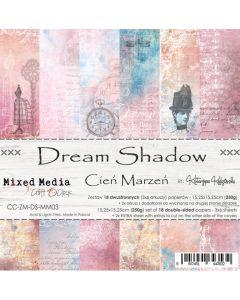 Set papirjev - DREAM SHADOW - 15,25 x 15,25 cm