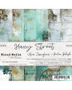 Set papirjev - HAZY STREET - 15,25 x 15,25 cm