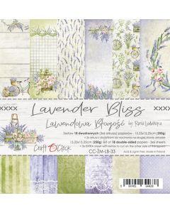 Set papirjev - LAVENDER BLISS - 15,25 x 15,25 cm