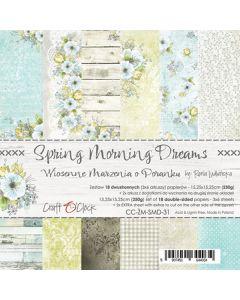 Set papirjev - SPRING MORNING DREAMS - 15,25 x 15,25 cm
