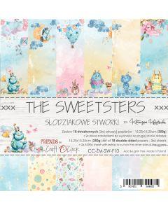 Set papirjev - SWEETSTERS - 15,25 x 15,25 cm