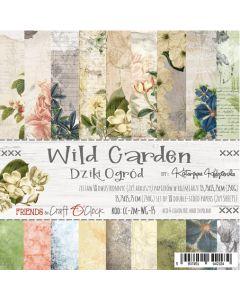 Set papirjev - WILD GARDEN 15,25 x 15,25 cm