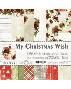 Set papirjev - MY CHRISTMAS WISH 30,5 x 30,5 cm