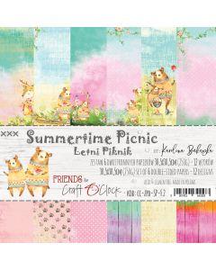 Set papirjev - SUMMERTIME PICNIC 30,5 x 30,5 cm