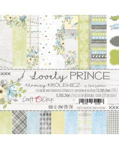 Set papirjev - LOVELY PRINCE 15,25 x 15,25 cm