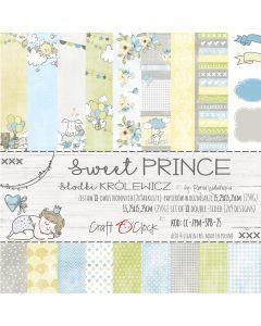 Set papirjev - SWEET PRINCE 15,25 x 15,25 cm