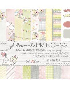 Set papirjev - SWEET PRINCESS 15,25 x 15,25 cm