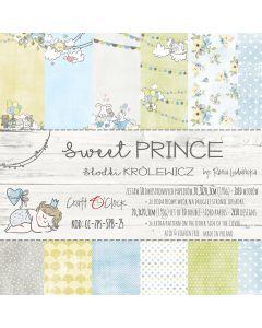 Set papirjev - SWEET PRINCE 20,3 x 20,3 cm