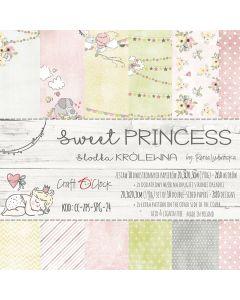 Set papirjev - SWEET PRINCESS 20,3 x 20,3 cm