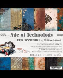 Set papirjev - AGE OF TECHNOLOGY 20,3 x 20,3 cm