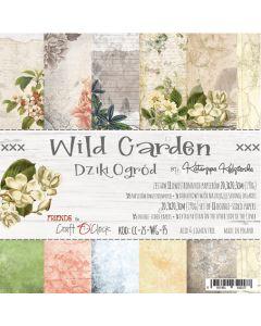 Set papirjev - WILD GARDEN 20,3 X 20,3 cm