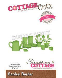 Rezalna šablona CottageCutz Garden Border (Elite)