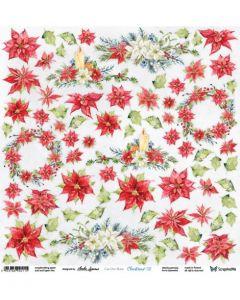 Enostranski papir - Christmas 2 - 30,5x30,5cm - 250g