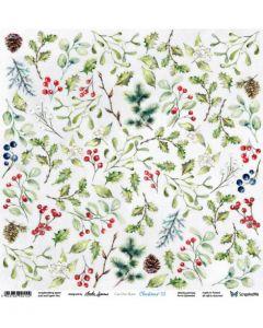 Enostranski papir - Christmas 3 - 30,5x30,5cm - 250g