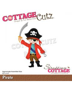 Rezalna šablona CottageCutz Pirate