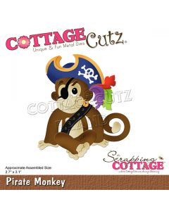 Rezalna šablona CottageCutz Pirate Monkey
