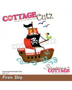 Rezalna šablona CottageCutz Pirate Ship