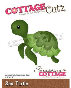 Rezalna šablona CottageCutz Sea Turtle