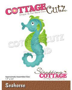 Rezalna šablona CottageCutz Seahorse
