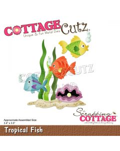 Rezalna šablona CottageCutz Tropical Fish
