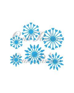 Rezalna šablona - Pestiči - 3,5cm, 3cm, 2,2cm - Craft Passion