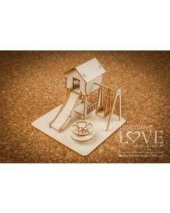 Laserski izrez - 3D otroško igrišče - Laserowe Love