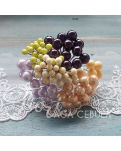 Dekorativne jagode - MIX - 80 kos