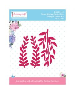 Rezalna šablona Dress my Craft - Foliage & Leaves # 8