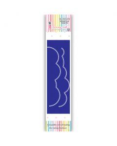 Rezalna šablona - Stitched Cloud Border Die - Oblak obroba - 116x23mm, 116x20mm - Dress my Craft