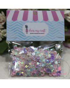 Polnilo za tresočke - Fairy Mix Sequins - 8g - Dress my Craft