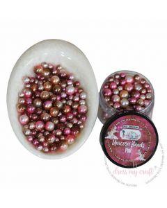 Perle - Unicorn Beads - Pink - 5-8mm - 20g - Dress my Craft