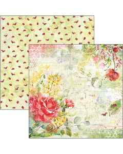 Dvostranski papir - Roses - 30,5x30,5cm - 190g